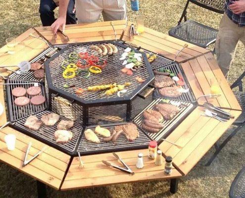 outdoor entertaining options
